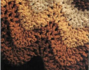 Amber Waves - Crochet Blanket Pattern
