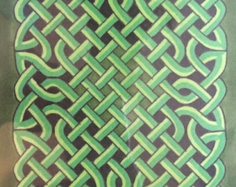 Celtic Knot Prints