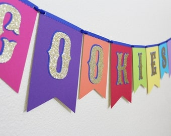 Daisy Troop Cookies Banner | Girl Scout Cookies Sign