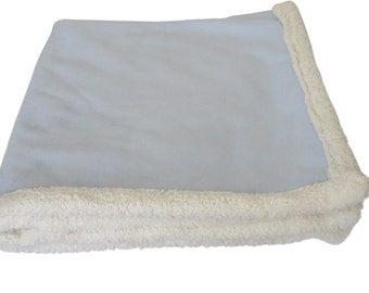 Dog Blanket - Baby Blue