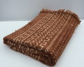 Vintage Handmade African Bogolanfini/ Mud Cloth, Imported from Mali
