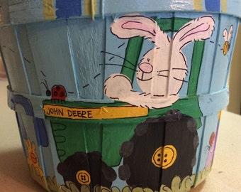Easter Basket- Tractor Easter Basket