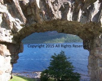 Urquart Castle and Loch Ness