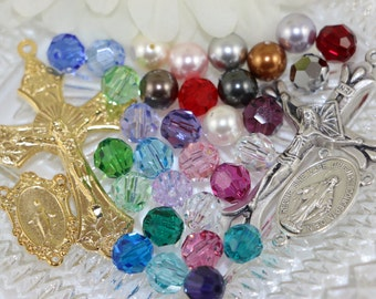 Swarovski Crystal/Pearl Custom Rosary of Your Design!