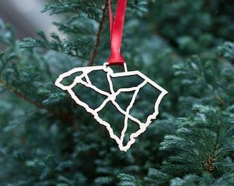South Carolina Christmas Ornaments