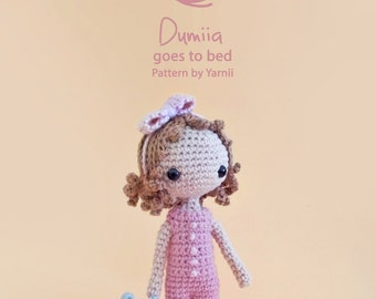 Dumiia Goes to Bed Pattern by Yarnii