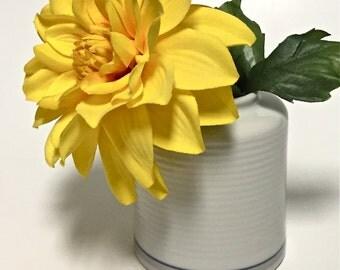 Vintage Dansk Tapestries Ceramic Porcelain Bud Vase Small Vase