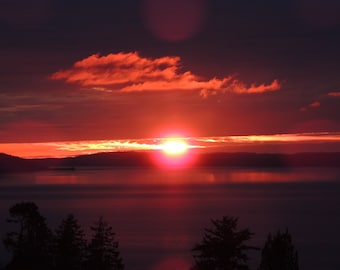 Pacific NW Sunset