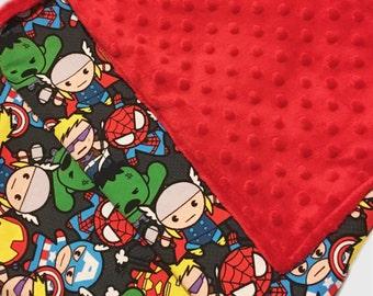 Minky baby blanket - lovie size