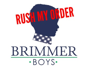 Rush My Order Request