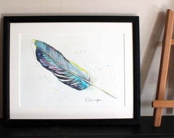 Feather Original Art