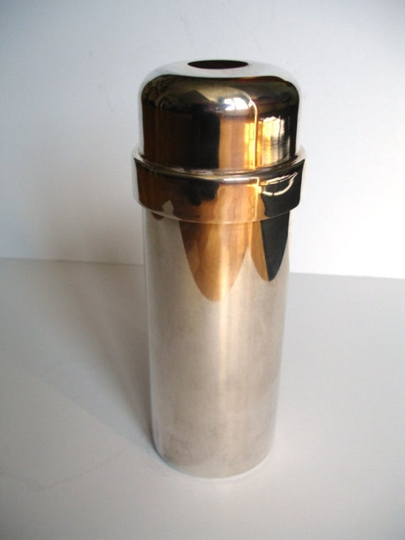 Italian Silver Plated  Cocktail Shaker