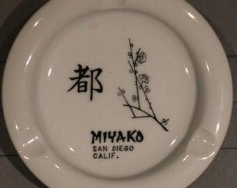 1975 Ashtray, Miyako Restaurant, San Diego, CA