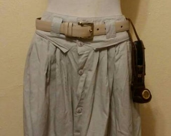 "Steampunk Safari Explorer Skirt.  31"" waist"