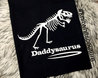 Daddysaurus Shirt, Fathers Day, celebrate dad with a tee