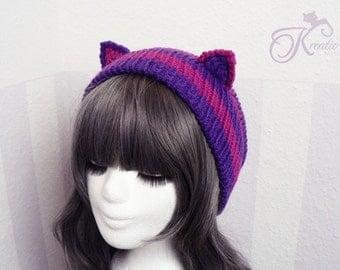 Chesire Cat (purple-pink)