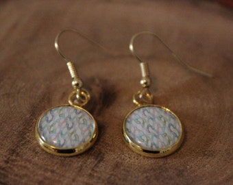 GOLDEN earrings 12 mm