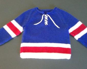 Baby Hockey Jersey Sweater