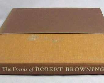 The Poems of Robert Browning, Heritage Press ©1971 Mint Condition!