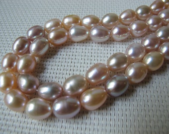9-10mm Natural Color Rice Fresh Water Pearl PL63