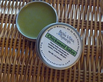 Chickweed Salve - Wild Weeds - Rashes - Soothes Skin