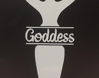 Goddess Vinyl Decal