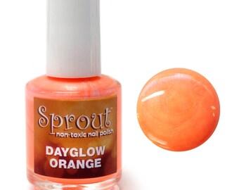 Sprout Non Toxic Day Glow Orange Single Polish