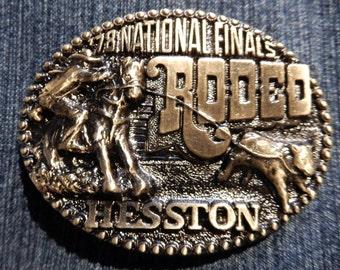1978 Hesston Belt Buckle