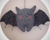 Little Batty Bat - Handmade Hanging Bat Plush