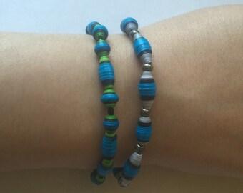 Blue Space Bracelets
