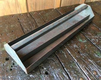 Vintage Tool Caddy, Metal Tool Caddy, Industrial Storage, Metal Tool Box Tray