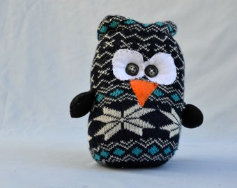 Owl, Whimsical Owl, Soft Owl, Owl Stuffed Animal