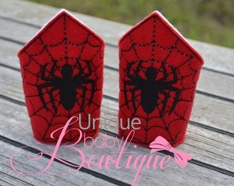 Spider Man Inspired Mask, and cuff set