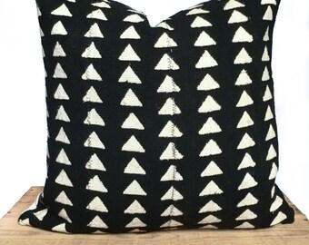 Custom Vintage African Mud Cloth Pillows Shibori By