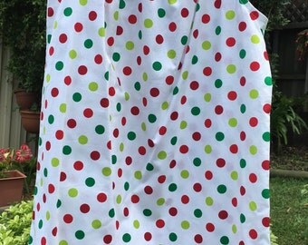 Girl's Christmas Handmade Dress sizes 3, 4, 5, 6 & 7