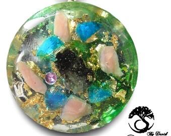 Orgone Pendant Crystal Healing Pendant chakras  Protection