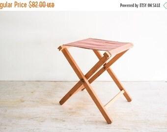 Camp Stool Canvas Chair Camping Chair Folding By Littlecows