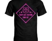 EXID Tiger Gas Station Hot Pink K-pop T-Shirt