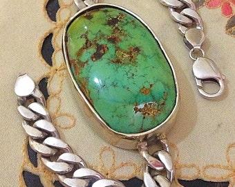 Giant turquoise bracelet