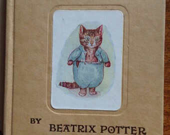 Vintage Beatrix Potter book   The Tale of Tom Kitten 1949