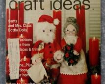Decorating Craft Ideas Magazine December/Januayr 1975-76