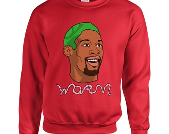Dennis Rodman The Worm Crewneck Sweatshirt