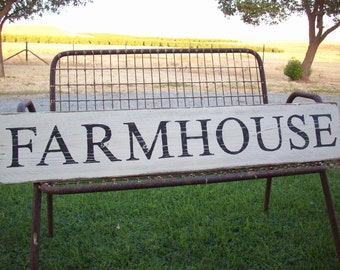 Farmhouse Sign / Farmhouse Decor /  French Country Kitchen / Large Farmhouse Kitchen Sign