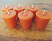 Harvest Spice Votive Candles | Handmade & Highly Scented for Fall | Set of 2, 4 or 6