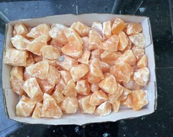20 lbs Orange Calcite