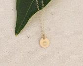 Sunflower Necklace, Sunflower Pendant, Gold Flower Necklace, Gold-fill Jewelry, Gold Sunflower, Flower Charm Necklace, Gold Flower Pendant