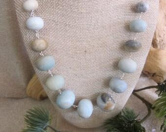 Amazonite Chunky Necklace