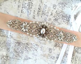 Bridal Sash, Bridal Sash Belt, Bridal Sashes and Belts, Bridal Sash Blush, Bridal Sash Pearl, Wedding Sashes for dress