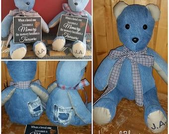 Memory Bear Keepsake Bear