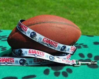 New York Giants Dog Collar